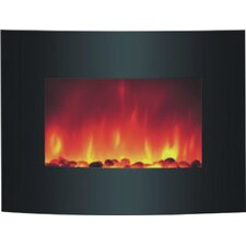 Jaggar Wall Mount Electric Fireplace