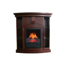 Wessex Corner Curio Electric Fireplace Insert