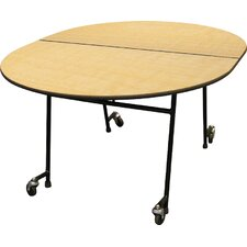 Elongated Cafeteria Table