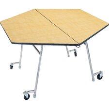 Hexagonal Cafeteria Table