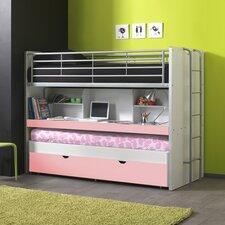Hochbett Bonny mit Bettkasten, 90 x 200 cm