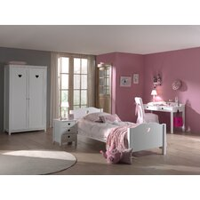 4-tlg. Schlafzimmer-Set Amori, 90 x 200 cm