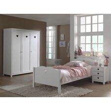 3-tlg. Schlafzimmer-Set Amori, 90 x 200 cm