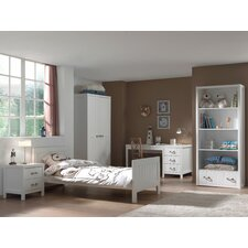 5-tlg. Schlafzimmer-Set Lewis, 90 x 200 cm