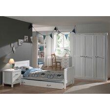 6-tlg. Schlafzimmer-Set Lewis, 90 x 200 cm