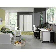 5-tlg. Schlafzimmer-Set Nixon, 90 x 200 cm