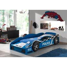 Autobett Police Car, 70 x 140 cm