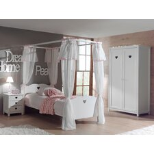 3-tlg. Schlafzimmer-Set Amori
