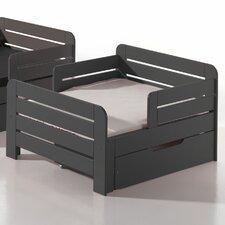 Umbaubett Jumper mit Bettschublade und Matratze