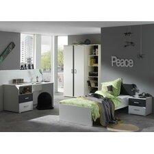 5-tlg. Schlafzimmer-Set Josh, 90 x 200 cm