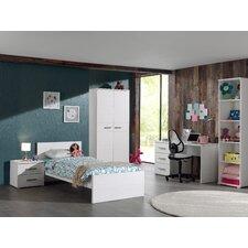 5-tlg. Schlafzimmer-Set Sofie, 90 x 200 cm