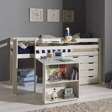 Spielbett Pino mit Schreibtisch und Schubladenkommde, 90 x 200 cm