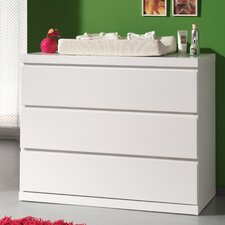 Lara 3 Drawer Chest of Drawers