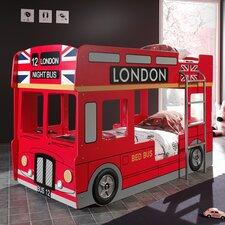 Etagenbett London Bus, 90 x 200 cm