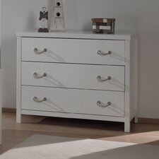 Lewis 3 Drawer Chest of Drawers