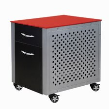 Racing Style 2 Drawer Cabinet