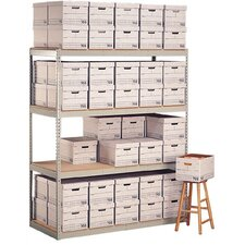 Record Storage 3 Shelf Shelving Unit Add-On