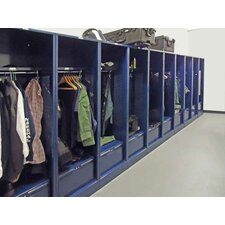 "Patriot Welded No Door Turnout Locker with 15"" Shelf"