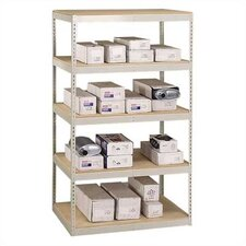 "Muffler Storage 84"" H 4 Shelf Shelving Unit Starter"