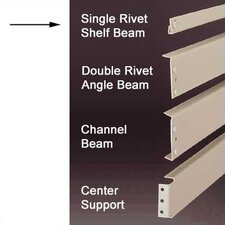 RivetRite Parts - Standard Single Rivet Shelf Beams