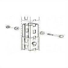 Wide Span Upright Frame Accessories - Upright Frame Splice (Set of 48)