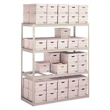 Record Storage 3 Shelf Shelving Unit Starter