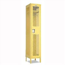 Invincible II 1 Tier 1 Wide Contemporary Locker