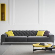 Boston Capitonné with Tufted Back Sofa