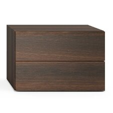 People 2 Drawer Nightstand