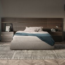 People Upholstered Panel Bed