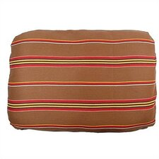 Patterned Rectangular Pet Bed Cover