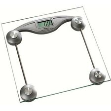 Square Glass Digital Electronic Bathroom Scale