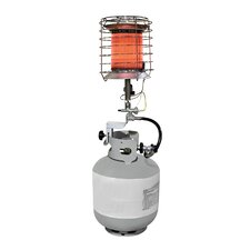 40,000 BTU Portable Propane Radiant Tank Top Heater with Tip Over Safety Switch