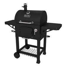 Charcoal Grill with Grates and Charcoal Door
