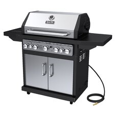 79,000 BTU 5-Burner Natural Gas Grill with Side Burner and Rotisserie Burner