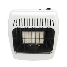 12,000 BTU Wall Mounted Propane Manual Vent-Free Heater