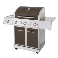 "53.04"" BBQ Gas Grill with Side Burner"