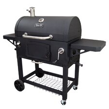 Charcoal Grill with Adjustable Charcoal Tray