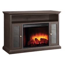 Riley Media Cabinet Electric Fireplace