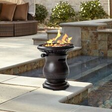 Sumner Magnesium Oxide Propane Tabletop Fireplace