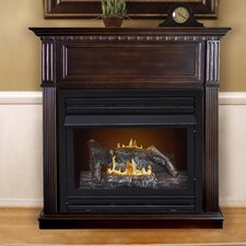 Intermediate Vent-Free Dual Fuel Natural Gas Fireplace