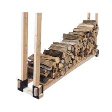 Steel Log Rack Bracket