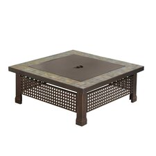 Bradford Outdoor Natural Slate Fire Pit Table