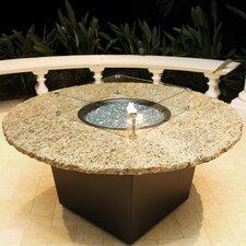 Alfresco Naples Metal/Granite Gas Table Top Fireplace