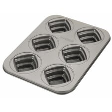 Novelty Non-Stick 6 Cup Square Mold