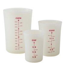 3 Piece Liquid Measuring Cup Set