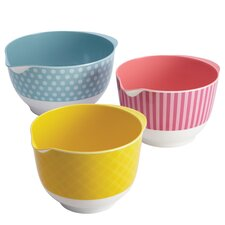 Countertop Accessories Melamine Mixing Bowl (Set of 3)