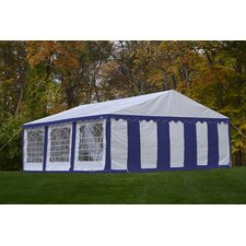 Enclosure Kit with Windows for 20 Ft W x 20 Ft D Party Shelter