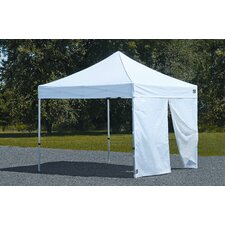 Alumi Max1 Wall 10 Ft. W Canopy Kit with Center Zipper