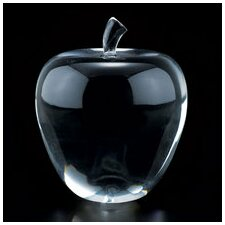 Crystal Apple Sculpture